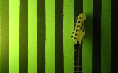 wallpaper green guitar guitar n green wallpapers createblog