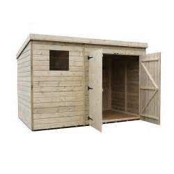 10 X 5 Shed Empire Sheds 4500 10 X 5 Right Side Door Pent Shed
