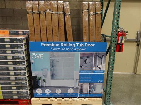 ove shower door ove decors 60 inch premium rolling tub door