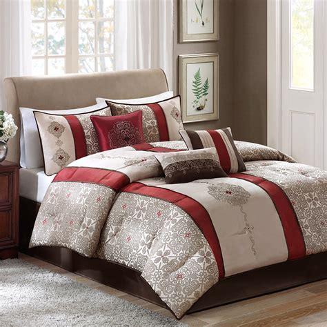 Madison Park Donovan 7 Piece Comforter Set Reviews Wayfair