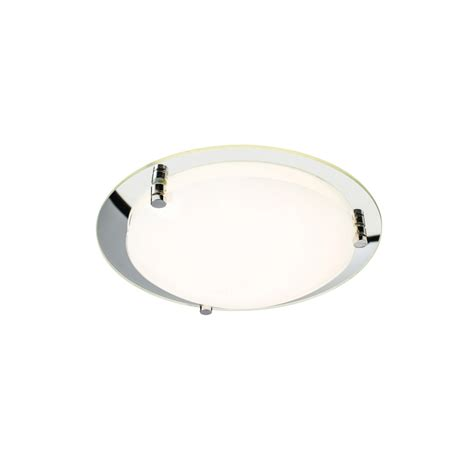 Flush Fitting Ceiling Lights Uk Endon 61231 Foster 1 Light Led Glass Flush Fitting