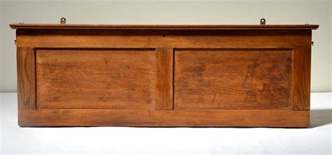 antique classroom pull map cabinet in oak