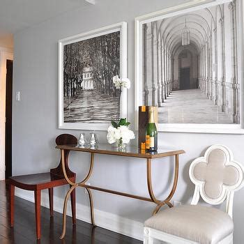 Suzanne Kasler Quatrefoil Chair by White Quatrefoil Chair Contemporary Dining Room
