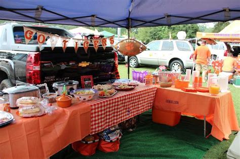 clemson tigers tailgate table 25 best ideas about tailgate decorations on