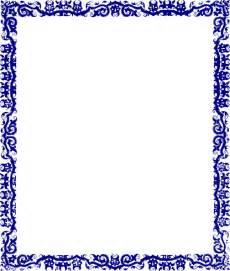 Contemporary Indian Wedding Invitations Blue Border Design Clip Art At Clker Com Vector Clip Art Online Royalty Free Amp Public Domain