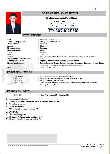 Printer All In One Yang Bagus template cv yang bagus image collections certificate