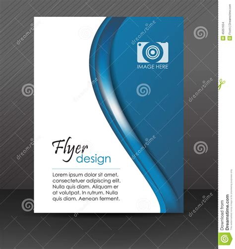 corporate flyer design vector professional business flyer template or corporate banner