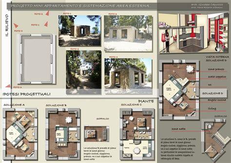 progetti mini appartamenti progetto mini appartamento e sistemazione esterna