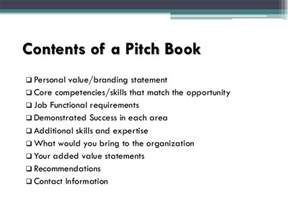pitch book template pitch book presentation