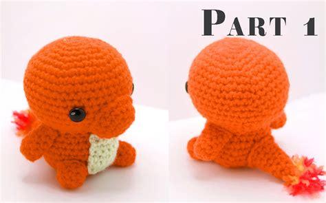 charmander amigurumi crochet tutorial part  youtube