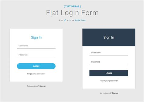 free login layout css 20 interesting css login form designs web graphic