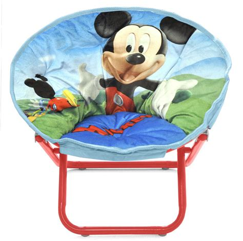 Mickey Mouse Toddler Chair by Disney Mickey Mouse Toddler Saucer Chair Design For