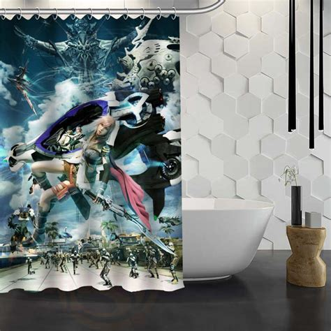 unique shower curtains for sale charmhome hot sale custom final fantasy shower curtain