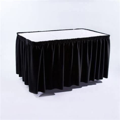 black table skirting rc special events