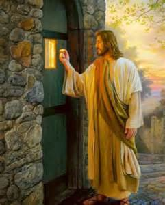 Knock And The Door by Jesus At The Door Heaven Awaits