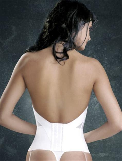 Low Back Bra Tali Bh Berkualitas flattering me longline bridal bra bustier 728