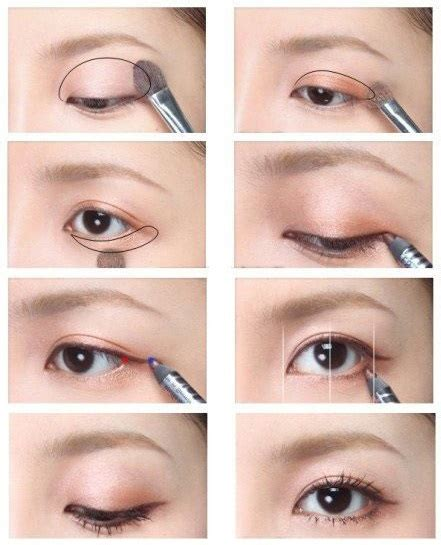 eyeshadow tutorial for small eyelids korean eye makeup for monolid and double eyelid korean site
