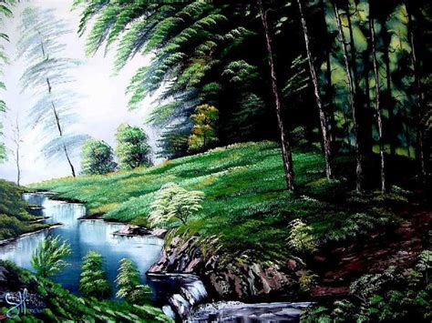 bob ross painting forest bob ross green forest painting bob ross green forest