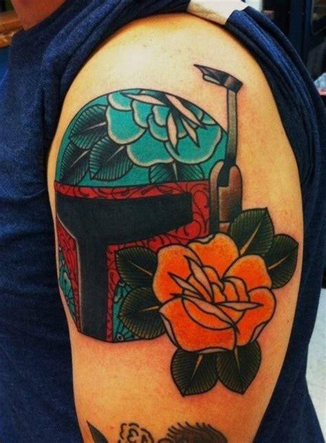 boba fett tattoo designs traditional style boba fett wars best