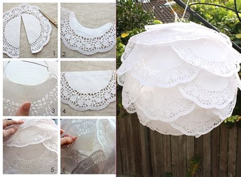 How To Make Paper Lace - diy 15 creative ways to use paper doily