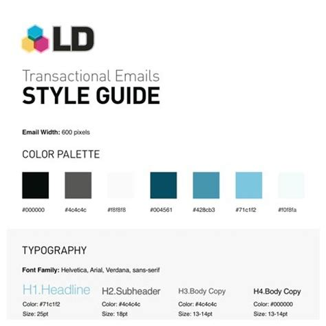 brand style guide template corporate style guide exles pictures to pin on