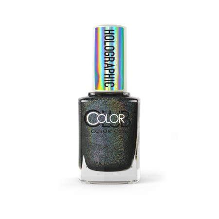 color club holographic color club holographic nail black magic walmart