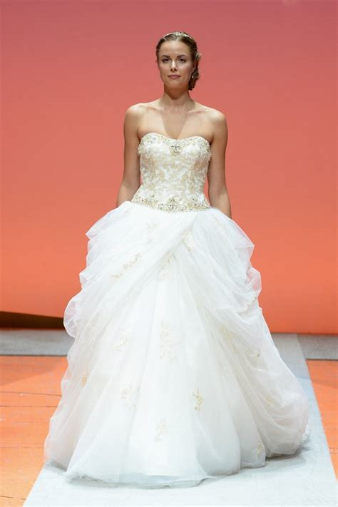 A Closer Look at the 2016 Disney Fairy Tale Weddings Bridal Collection from Alfred Angelo   This