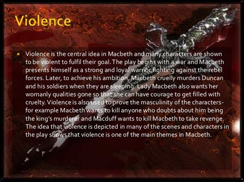 macbeth themes and supporting quotes themes in macbeth