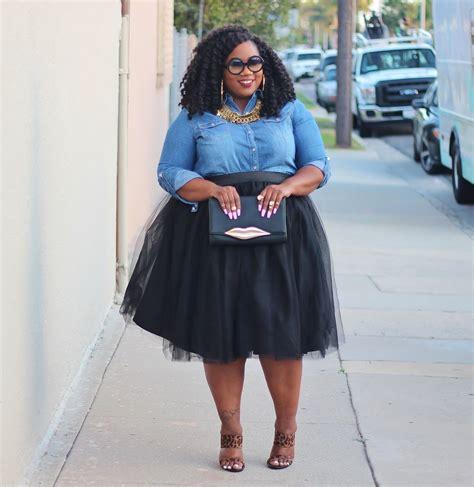 Vallenia Dress Big Size Blue denim shirt tutu and leopard heels plus sized fashion curvy couture leopard
