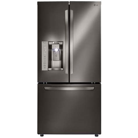 33 Wide Door Refrigerator With Water Dispenser by Lg Lfxs24623d 24 2 Cu Ft 33 Quot Wide Door