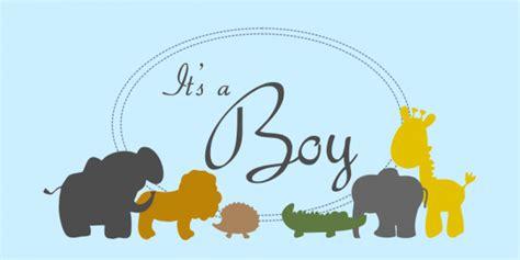 boy zoo animals banner    custom signs