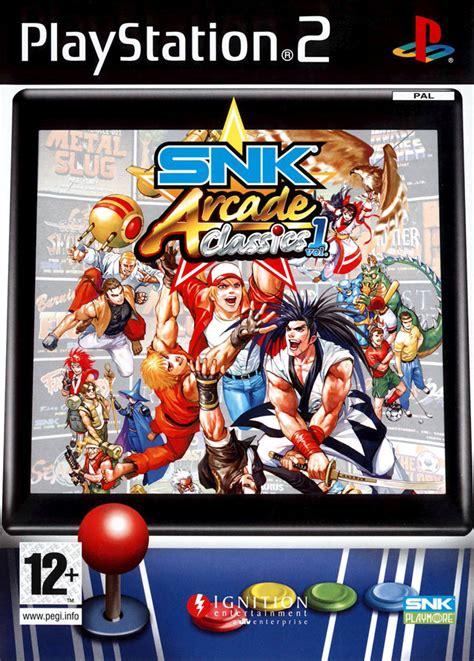 Bd Ps2 Original Samurai snk arcade classics volume 1 per ps2 gamestorm it
