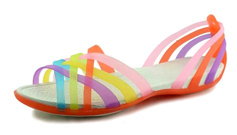 Jelly Shoes Anak Boots Rainbow quality pvc jelly shoes for flat jelly shoes flat heel sandals rainbow jelly shoes
