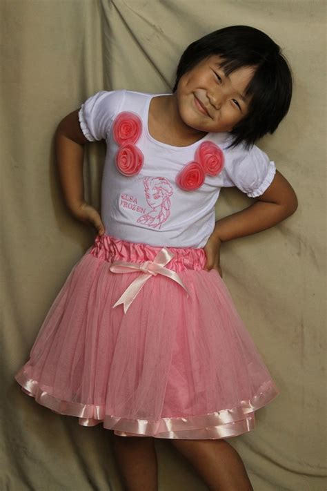 Stelan Anak Frozen Cowo Uk 4 6 Tahun Size 10 14 jual stelan bordir frozen tutu denga rok ribbon pink ag collection