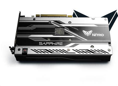 sapphire nitro 8gb price sapphire radeon rx 480 nitro 8gb oc edition graphics card