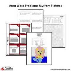 view printable area word fun math coloring worksheets mystery pictures color by