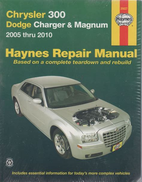 online auto repair manual 2005 chrysler 300 electronic throttle control chrysler 300 2005 2010 magnum automotive repair manual sagin workshop car manuals repair books