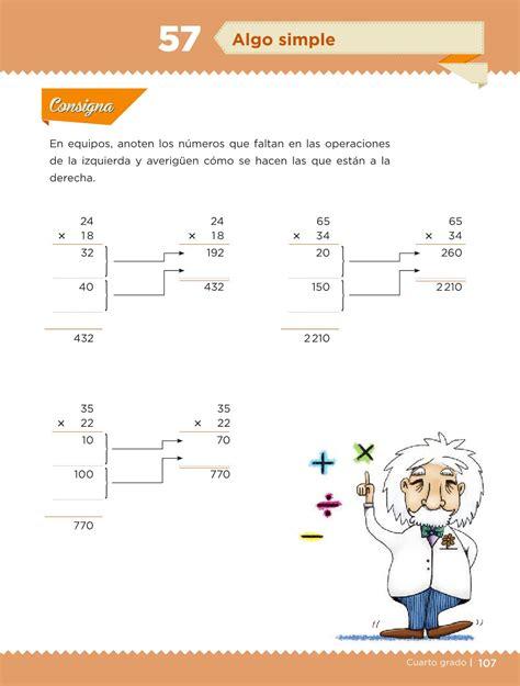 libro de desafios matematicos pagina 134 y 135 de sexto desaf 237 os matem 225 ticos libro para el alumno cuarto grado