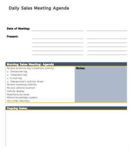 daily huddle template 6 daily agenda templates 6 free word pdf documents