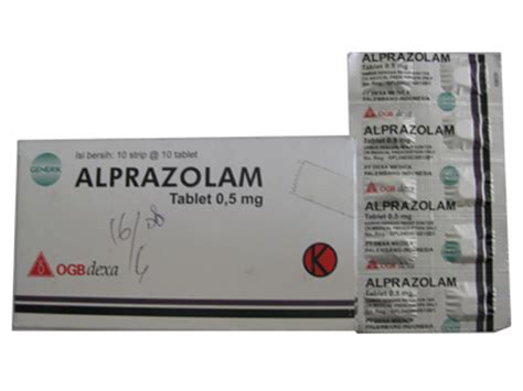 Obat Alprazolam 0 5 Mg Drugs Pharmacy And That S All You Need