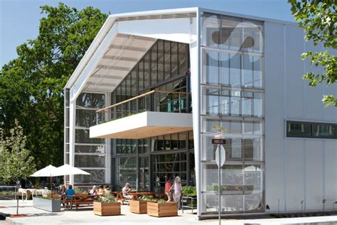 shed architectural style shed store and caf 233 architect magazine retail projects