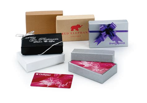 Gift Card Packaging - gift card boxes we add color to your packaging