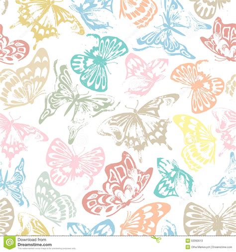 free printable butterfly wrapping paper butterfly pattern stock vector image 53393513