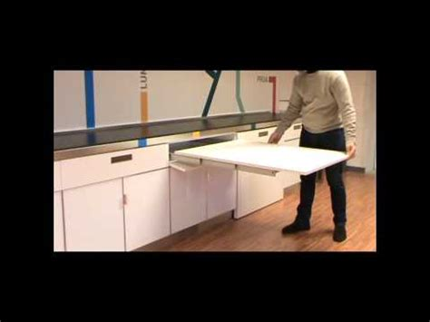desk with roll out extension atim lunch pull out youtube