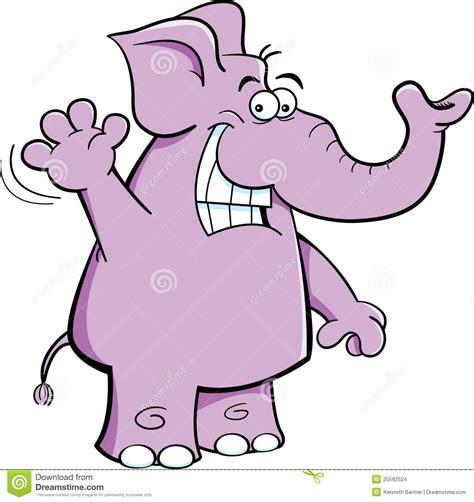 Waving Elephant Stock Images - Image: 25592524