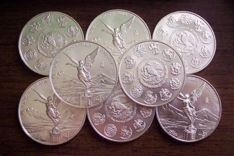fundir plata 8 onzas libertad de plata cuando estaba en la secundaria