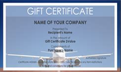 travel voucher gift certificate template travel gift certificate templates easy to use gift