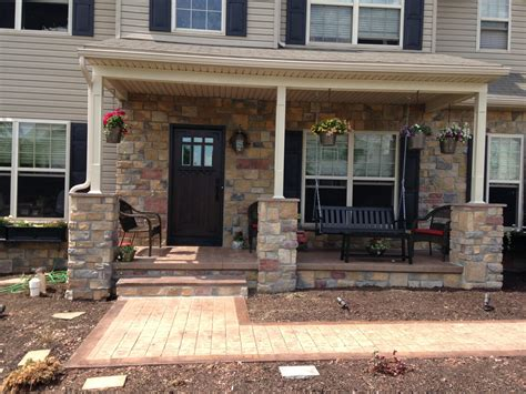 home remedies design remodel york pa front porch remodeling project in york pa all