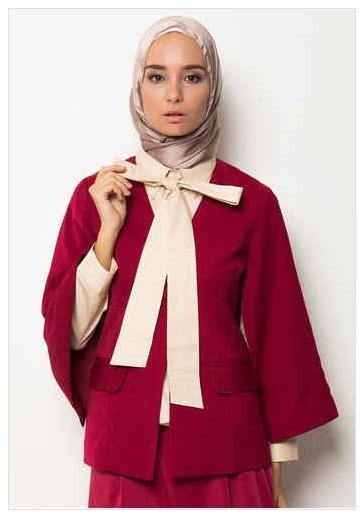 Model Baju Muslim Wanita 2016 10 Contoh Model Busana Muslim Wanita Formal Elegan 2016