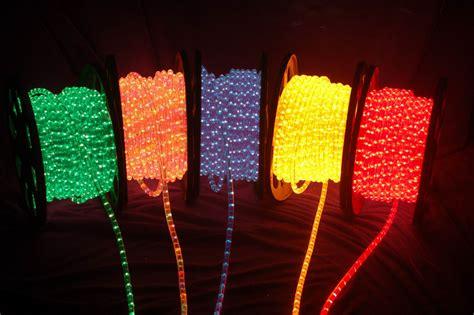 led christmas lights white cord